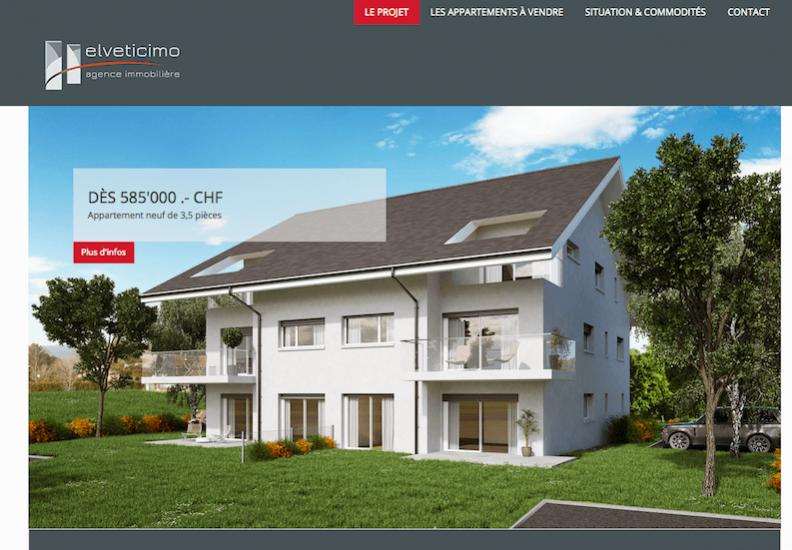 Le Premier «site Promotion» Publimmo est en ligne
